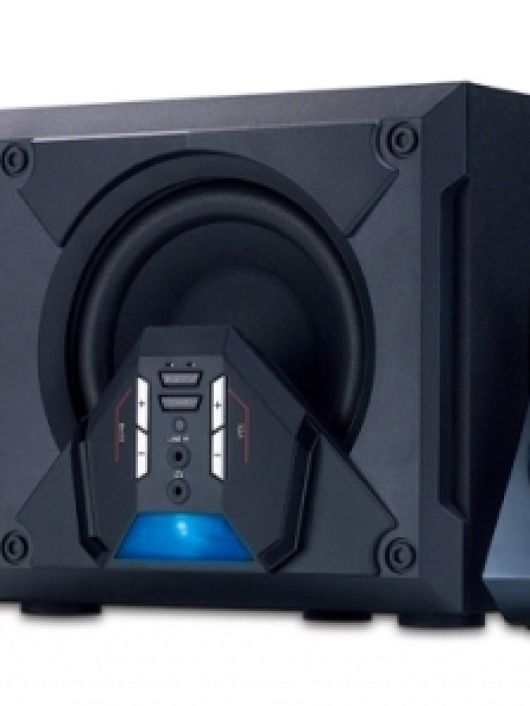 BOXE 5.1 GENIUS 'SW-G5.1 3500', RMS: 10Wx5 + 30Wx1, black, telecomanda '31731017100' (include timbru verde 1 leu)
