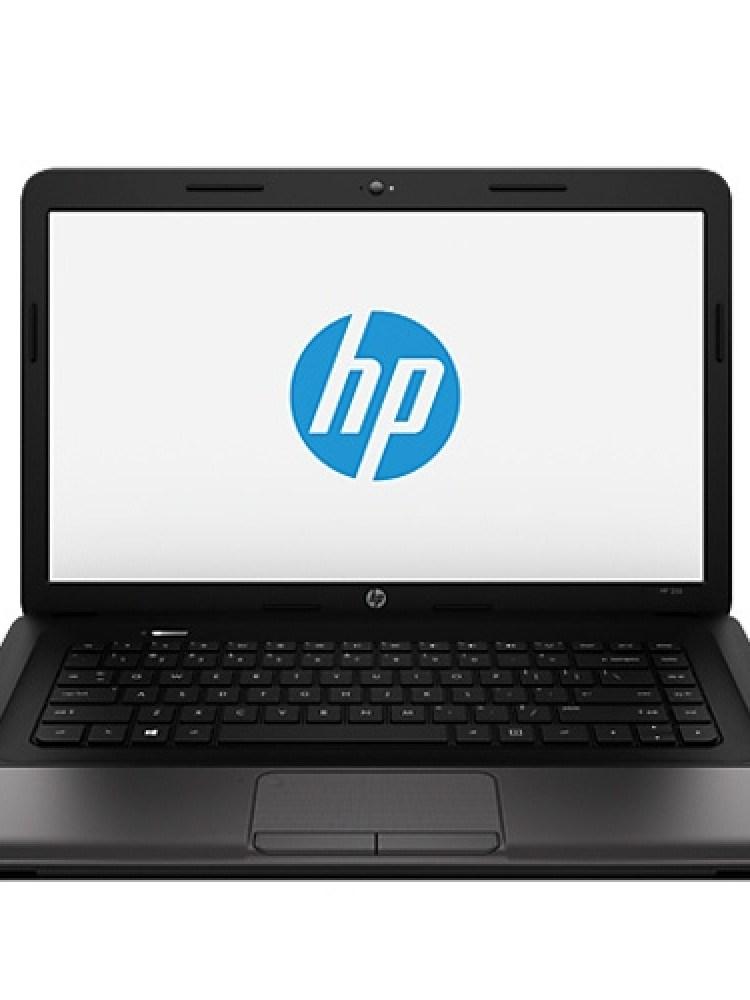Laptop HP, 255 G1; AMD E2-2000, 1750 MHz; 4 GB RAM; 500 GB HDD; AMD Radeon HD 7340 (Wrestler); DVD-RW