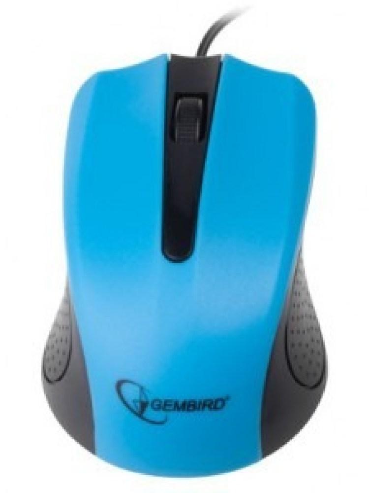Mouse GEMBIRD; model: MUS-101-B; ALBASTRU; USB