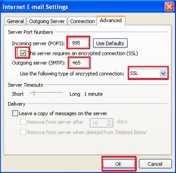 SSL Outlook