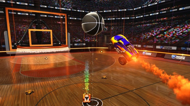 rocket league baloncesto