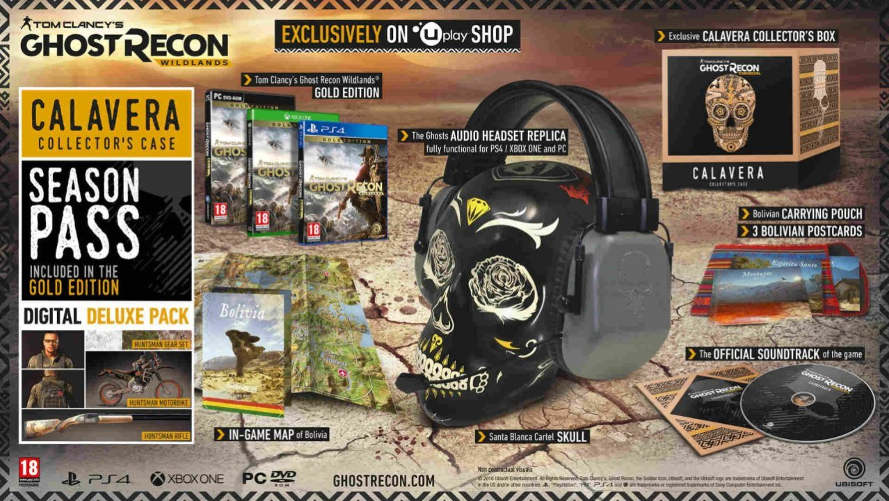 ghot recon wildlands collect