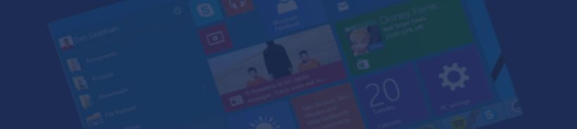 windows 10 banner