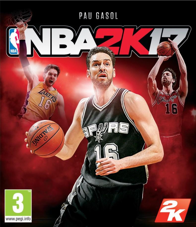 Portada NBA 2K17