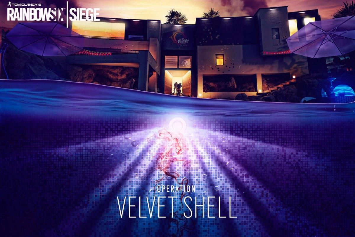 Velvet Shell Rainbow Six Siege