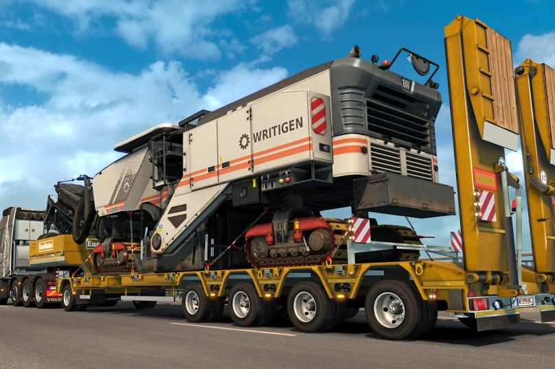 ETS2: Heavy Cargo Pack