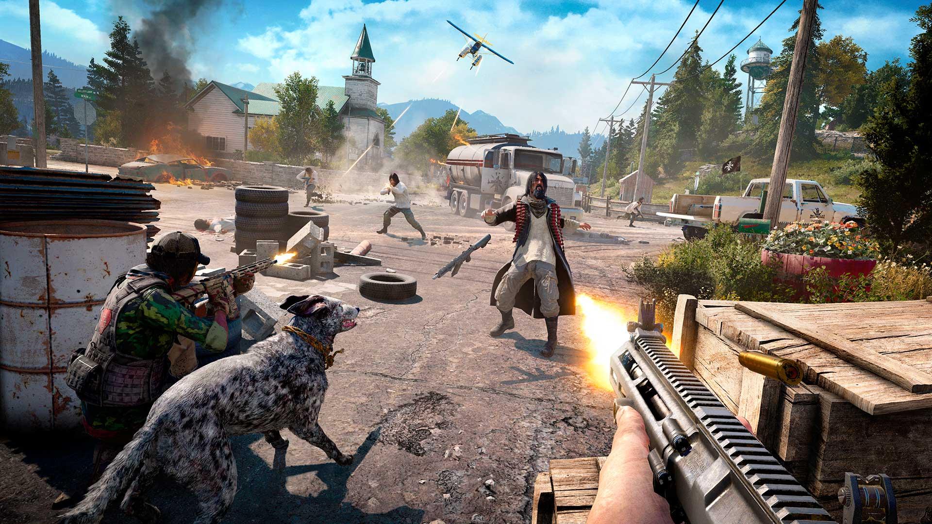 gameplay de Far Cry 5