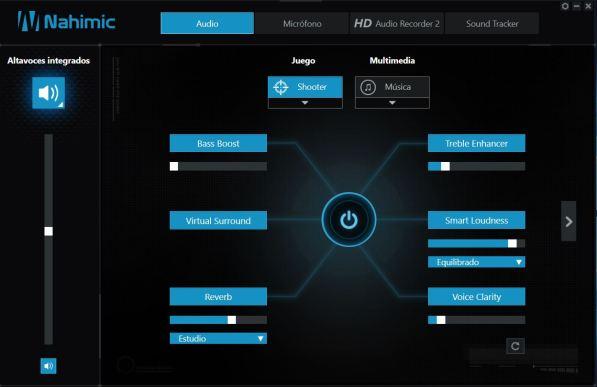 MSI GE62 7RE Apache Pro Análisis Nahimic GE62 7RE 1