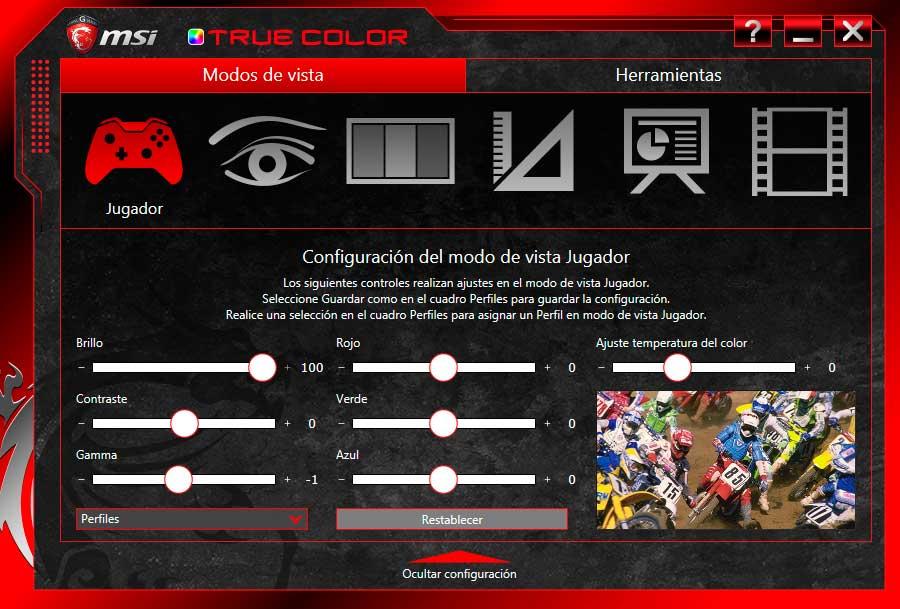 MSI GE72 Apache Pro - MSI TRUE COLOR