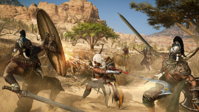 vídeos de Assassin's Creed Origins