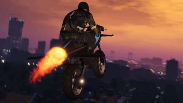 GTA Online Tráfico de armas (1)