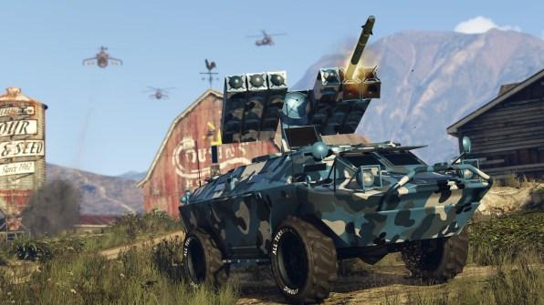 GTA Online Tráfico de armas (6)