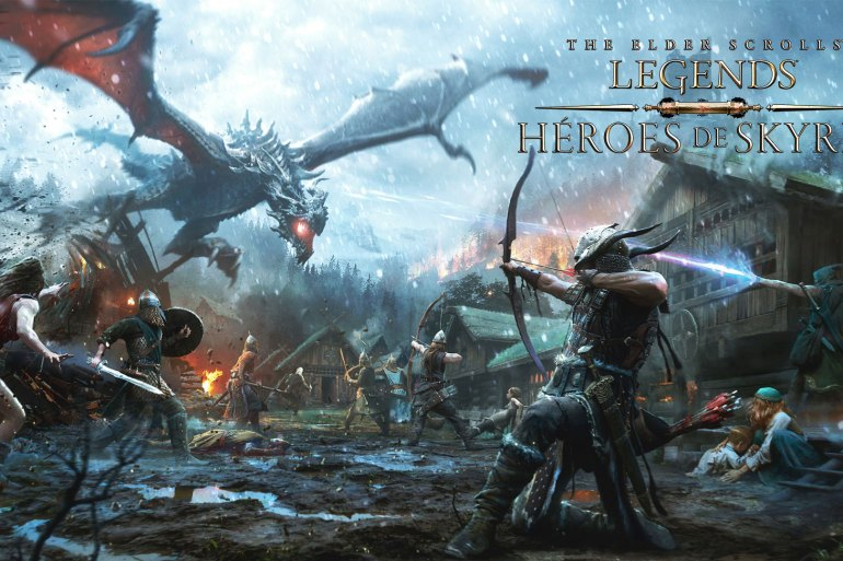 Héroes de Skyrim