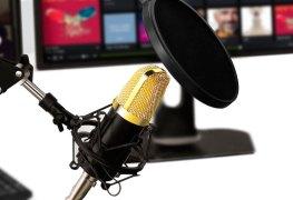 Micrófono condensador Aukey GD-G1