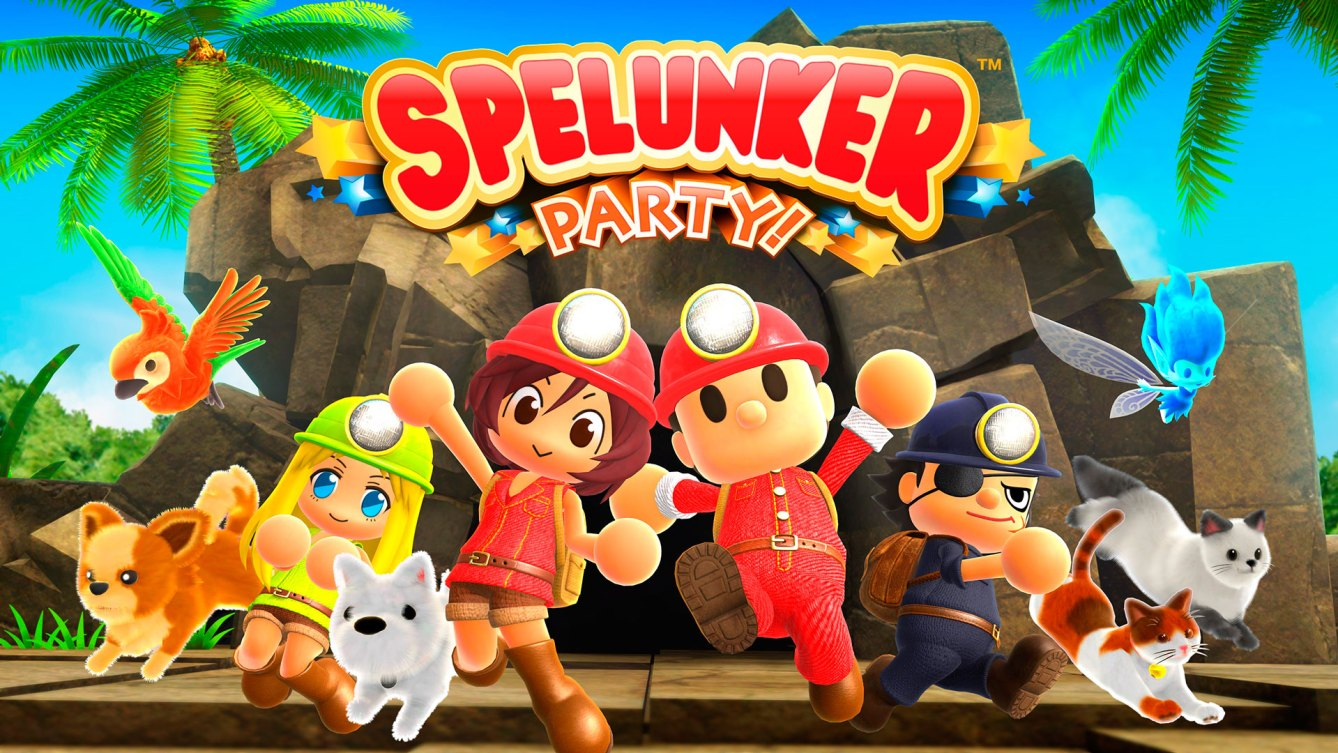 anunciado Spelunker Party!