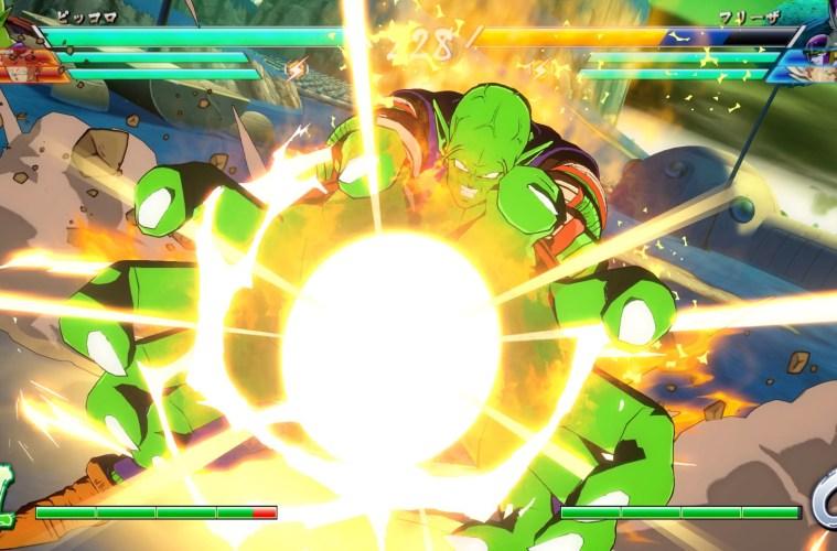 tráiler de lanzamiento de DRAGON BALL FighterZ.
