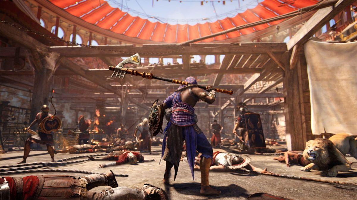 modo Horda en Assassin's Creed Origins