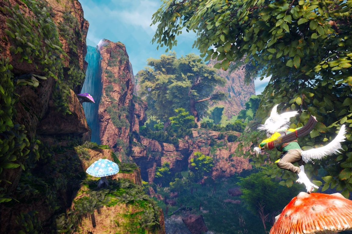 gameplay biomutant