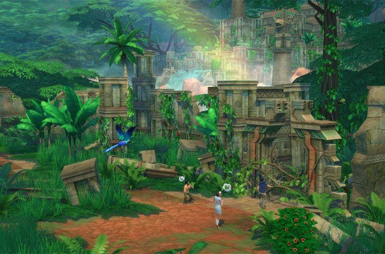 Los Sims 4 Aventura en la Selva Pack de Contenido