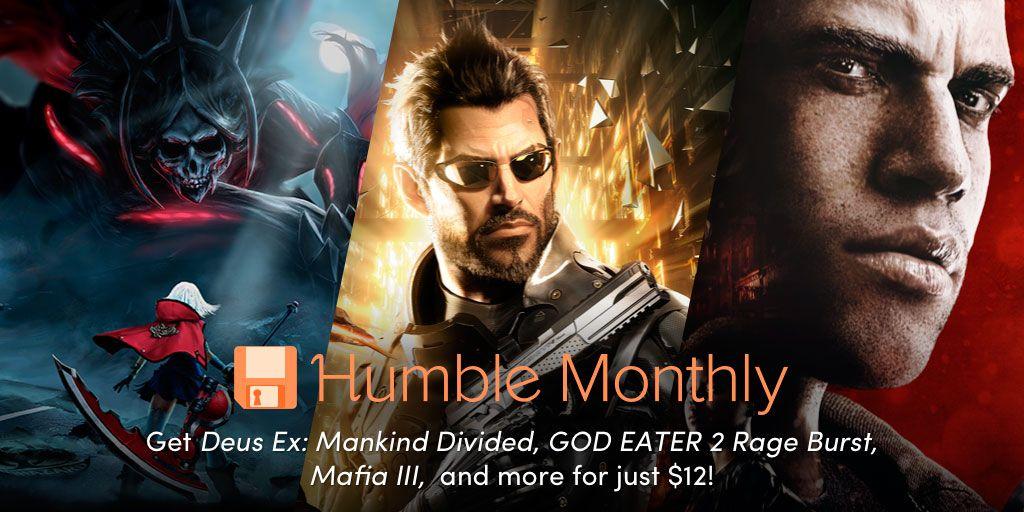 Humble Monthly Bundle de abril 2018