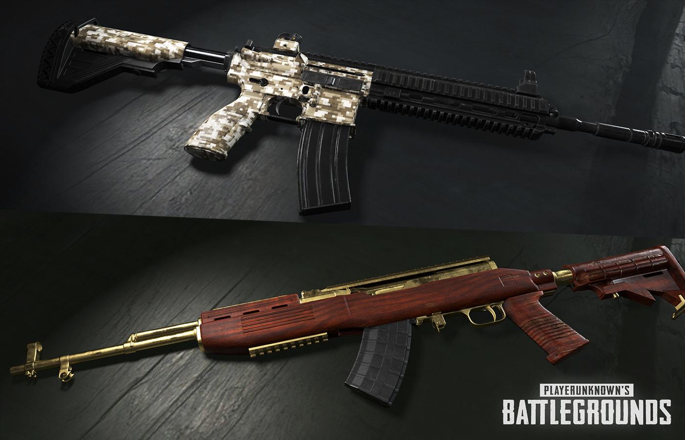 skins de armas a Playerunknown's Battlegrounds