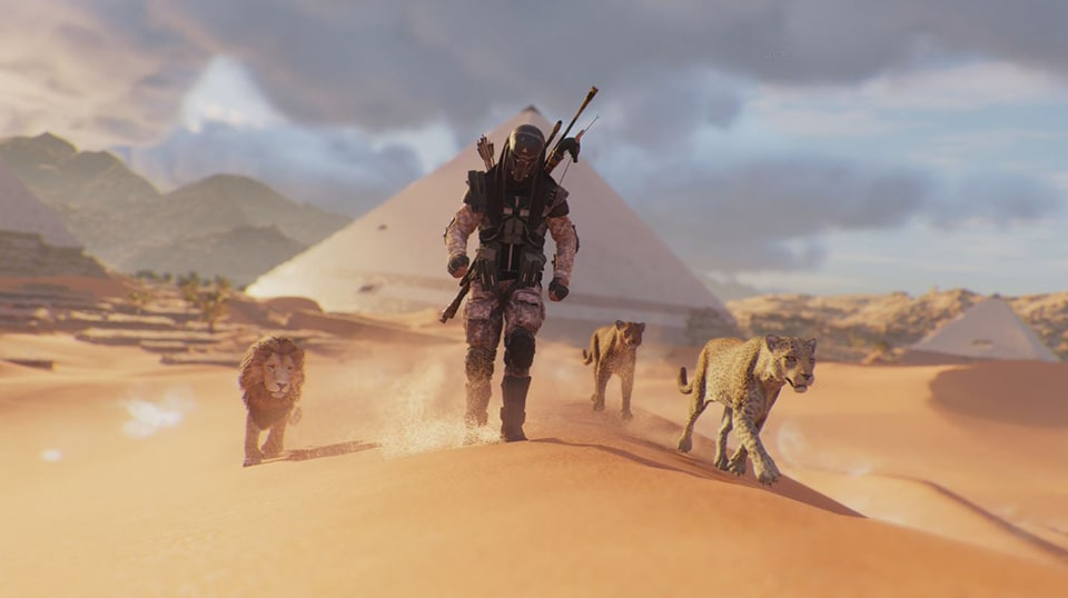 Assassin's Creed Origins: Animus Control Panel