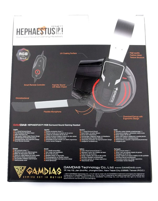Gamdias Hephaestus P1 RGB