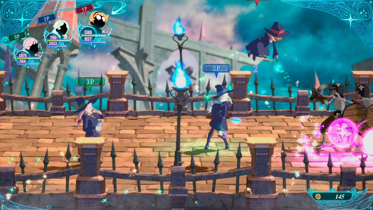 multijugador de Little Witch Academia: Chamber of Time