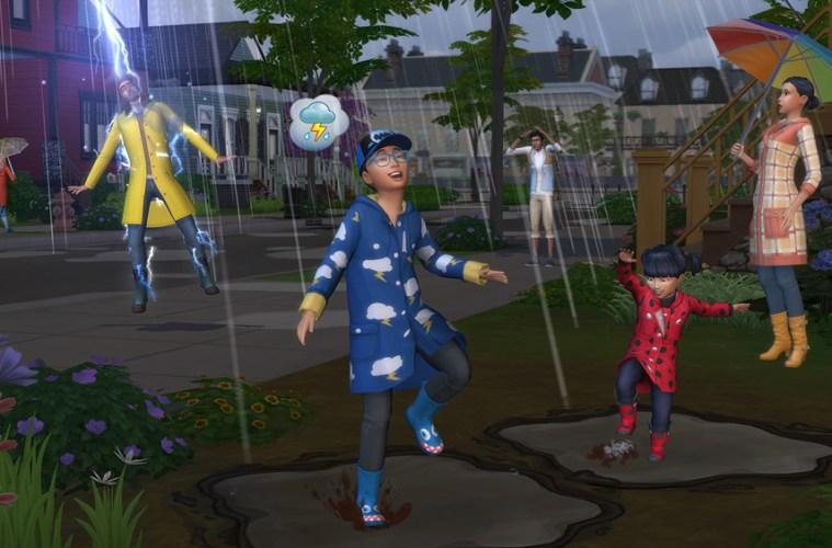 Los Sims 4 y Las Cuatro Estaciones
