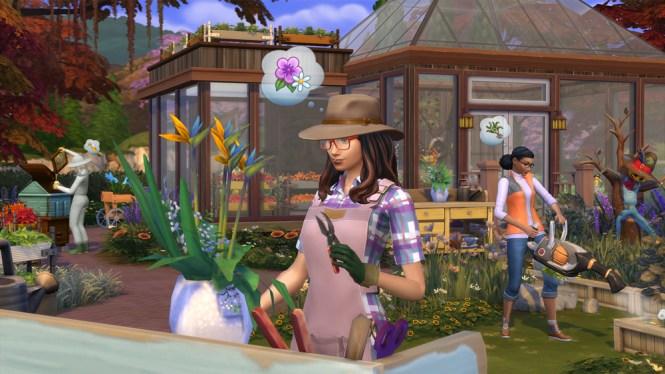 disponible Los Sims 4 y Las Cuatro Estaciones