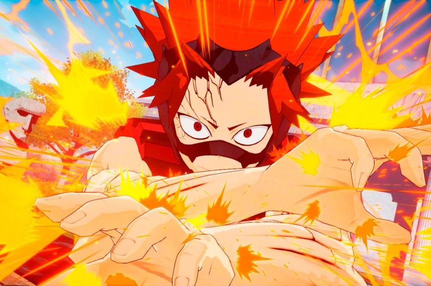 My Hero Ones Justice Fumikage Eijiro y Kyoka 1