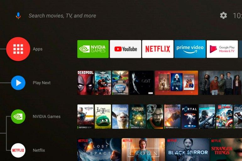 actualización Android 8.0 para Nvidia Shield TV