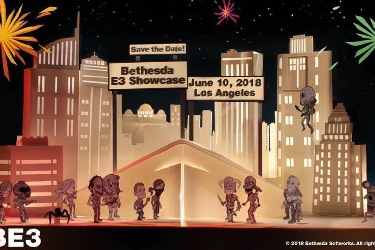 conferencia de Bethesda en E3 2018
