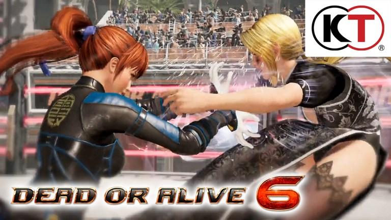 Dead or Alive 6 Anuncio E3 2018
