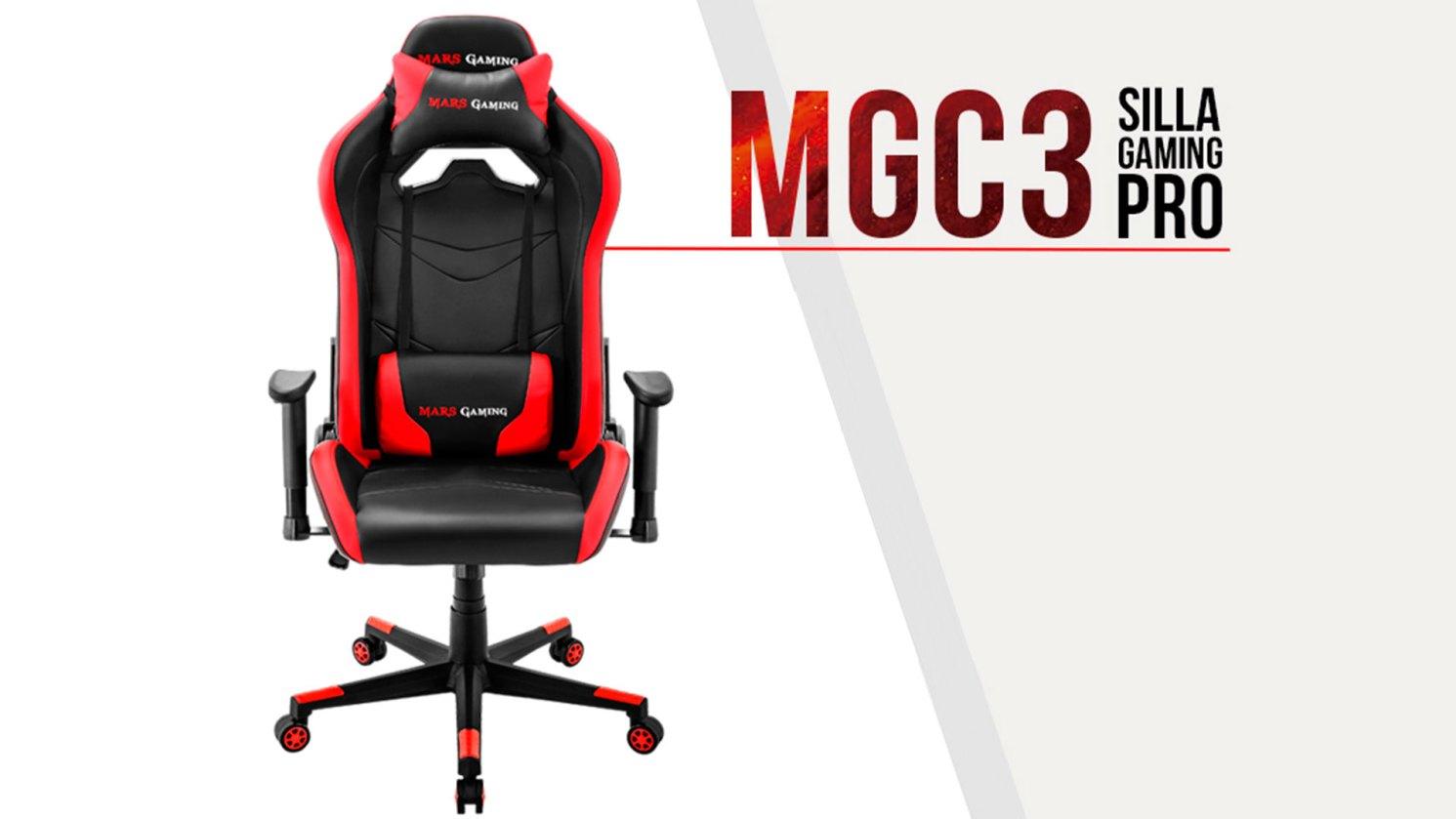 Mars Gaming MGC3 Anuncio