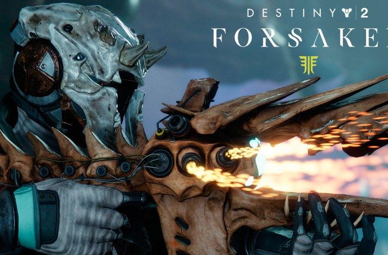 armas y equipamiento que llegará a Destiny 2: Los Renegados