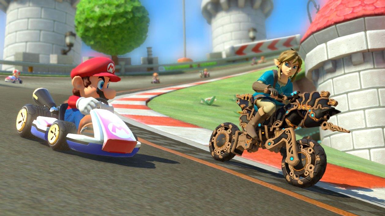 nuevos elementos en Mario Kart 8 Deluxe