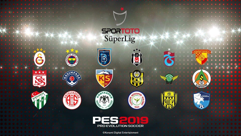 PES 2019 contará con la Süper Lig