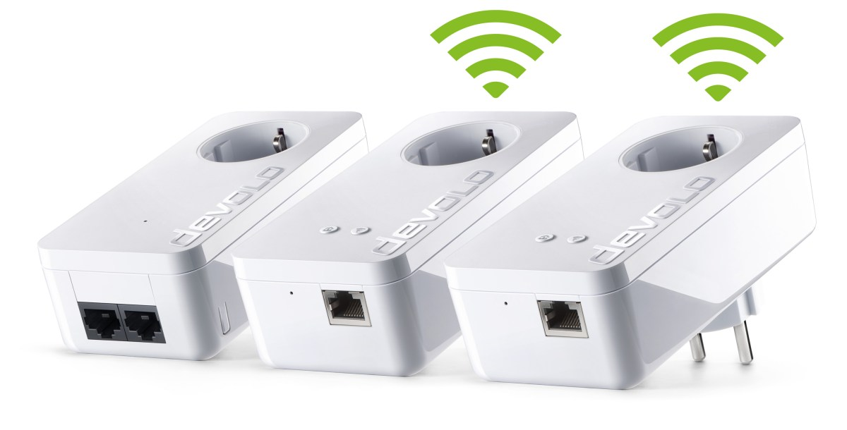 devolo WiFi Kit 550+