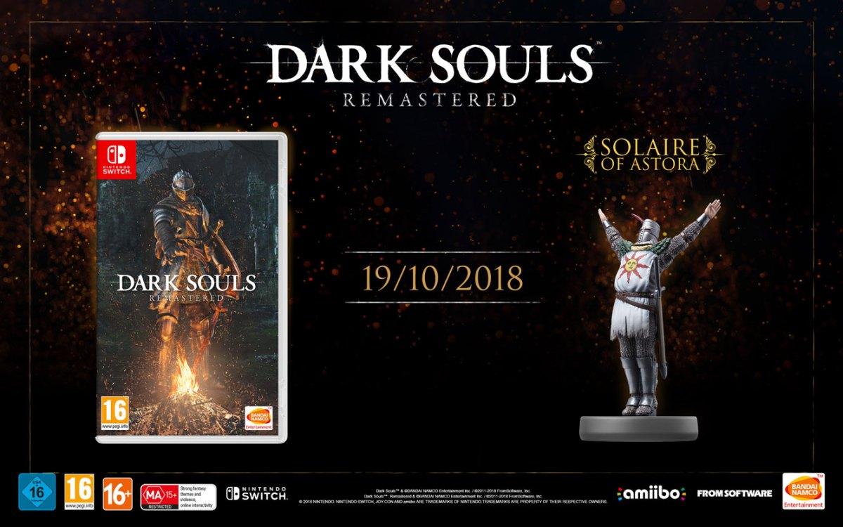 lanzamiento de DARK SOULS: REMASTERED