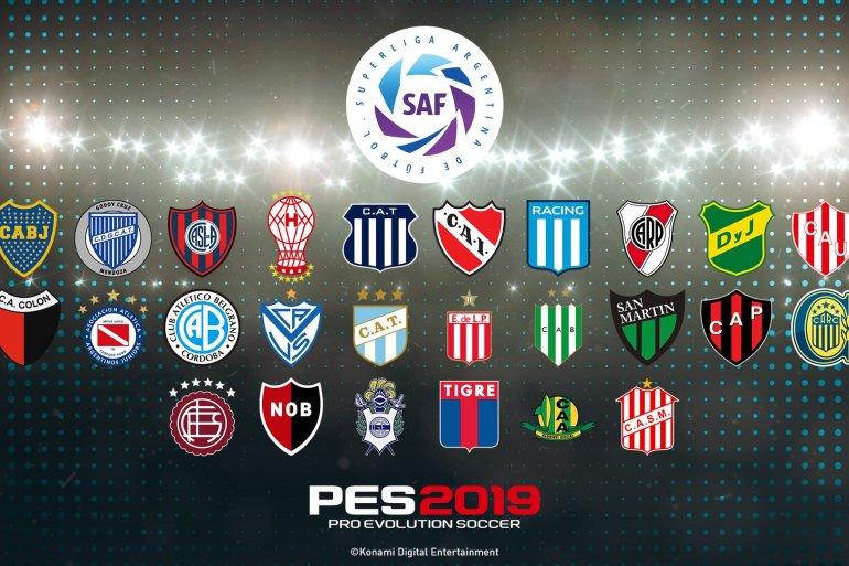 PES 2019 contará con la SuperLiga Quilmes Clásica