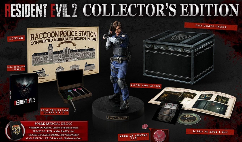 Resident Evil 2 Edición Coleccionista