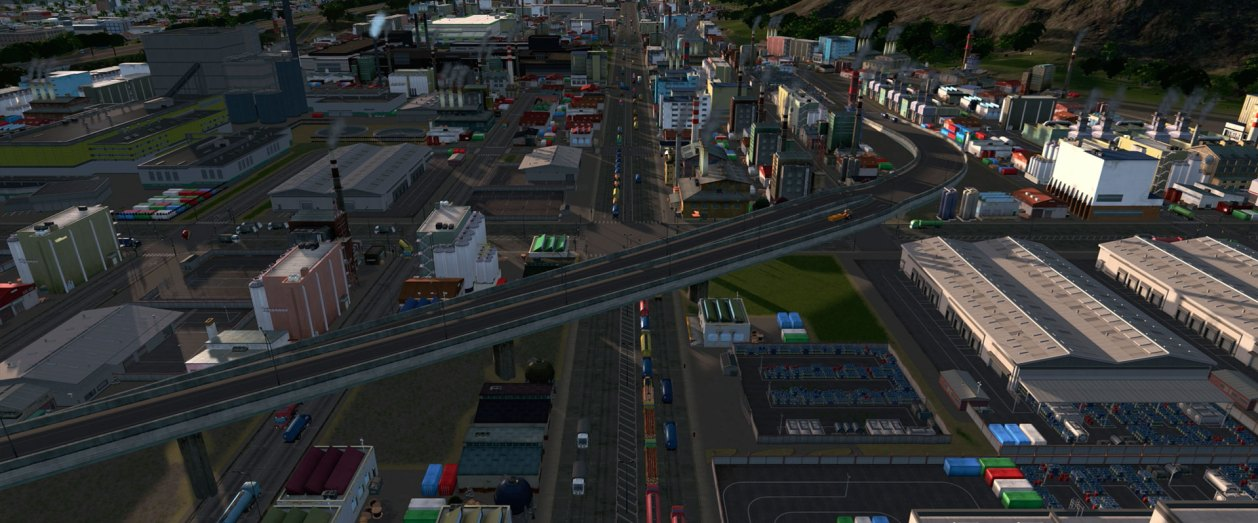 Cities Skylines Industries Test