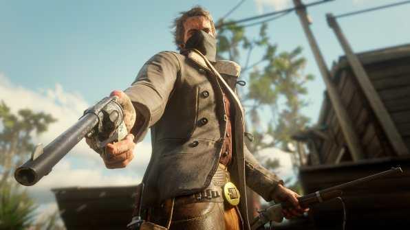 Red Dead Redemption 2 - personalización de armas (1)