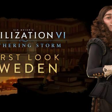 Cristina liderará Suecia en Sid Meier's Civilization VI: Gathering Storm