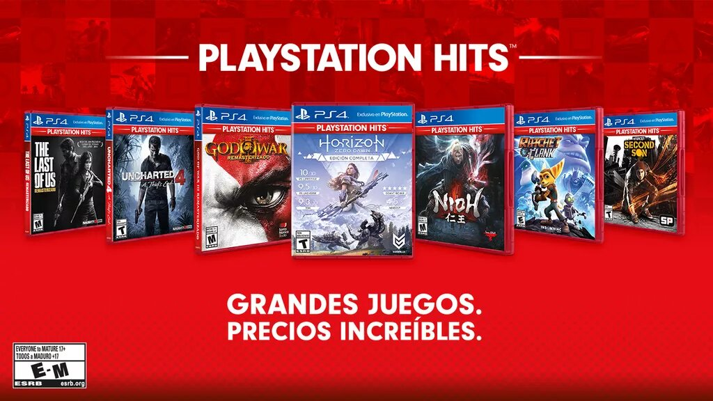 PlayStation Hits Junio 2019