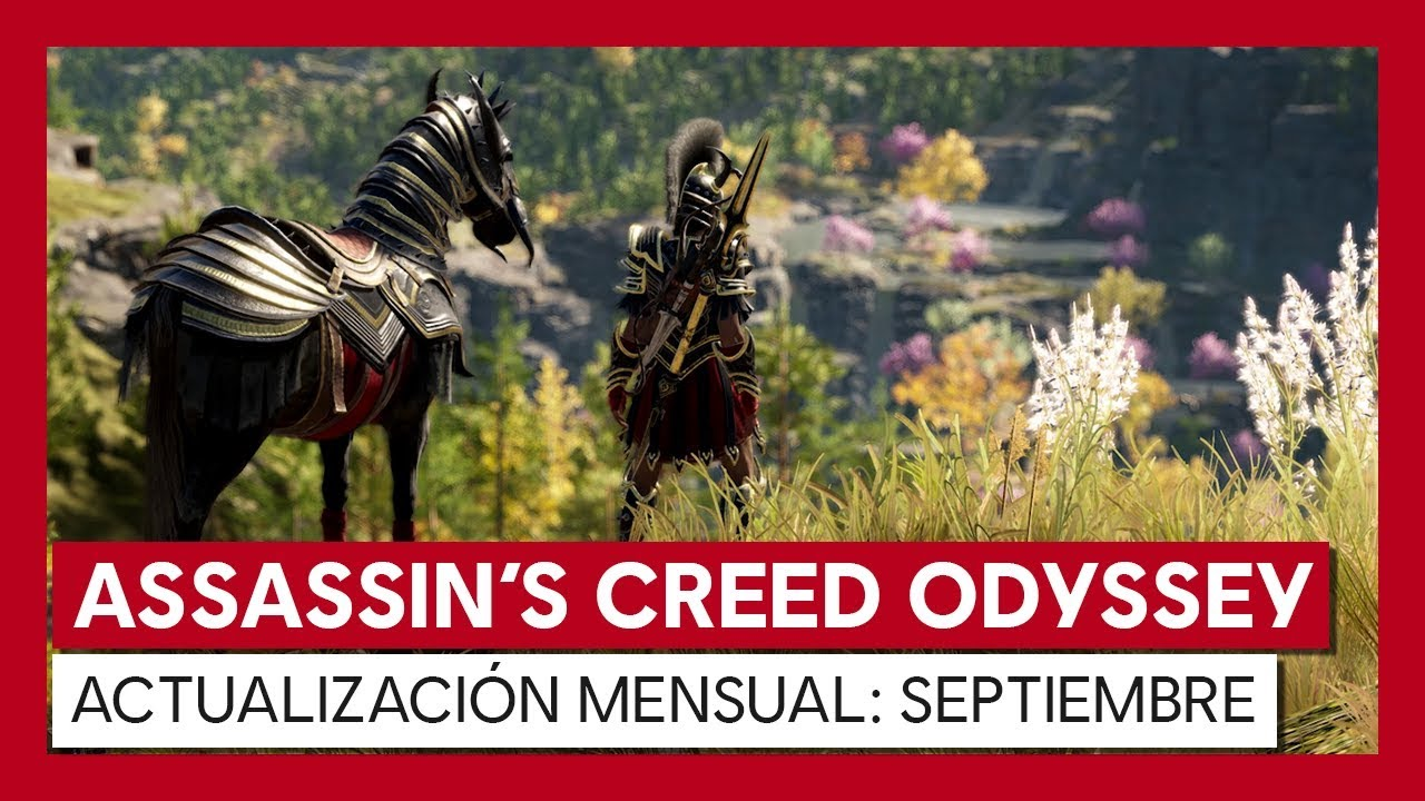 Assassins Creed Odyssey Septiembre 2019