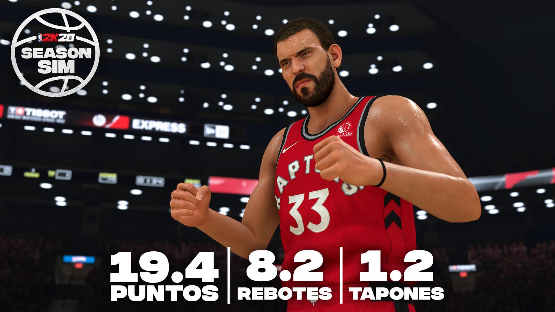 NBA 2K20 Marc