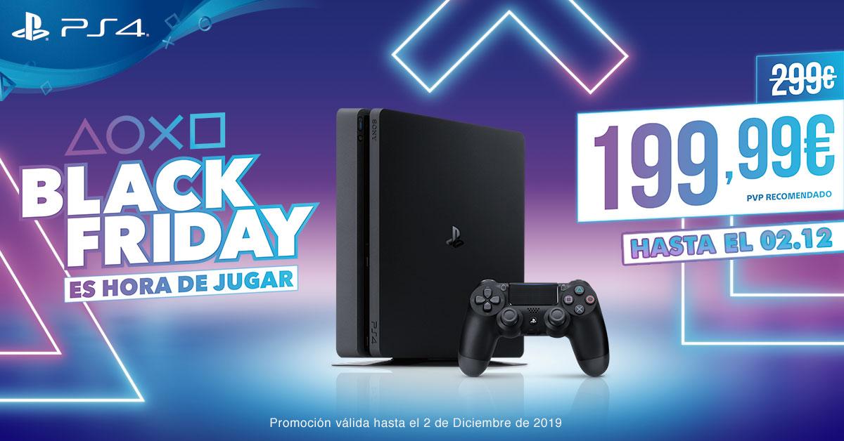 PlayStation 4 Black Friday 2019 2