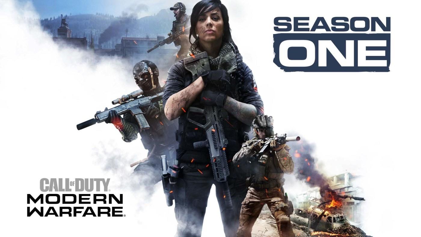 Call of Duty Modern Warfare Temporada Uno Anuncio 1